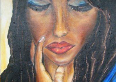 Mujer dubitatia