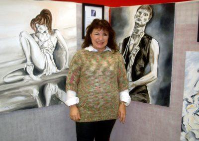 Exposition à la Médiathèque de Capestang (2013)