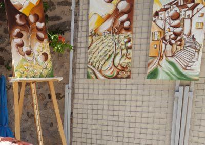 Exposition à Paraza