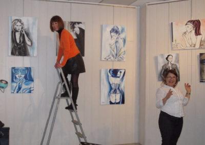 Installation exposition personnelle à Narbonne